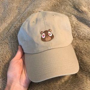 Kanye West Yeezy Bear Dad hat